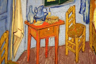 Van gogh's room painting