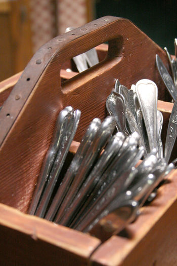 tool box for silverware