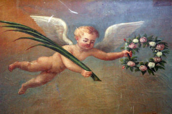 French-painting-angel