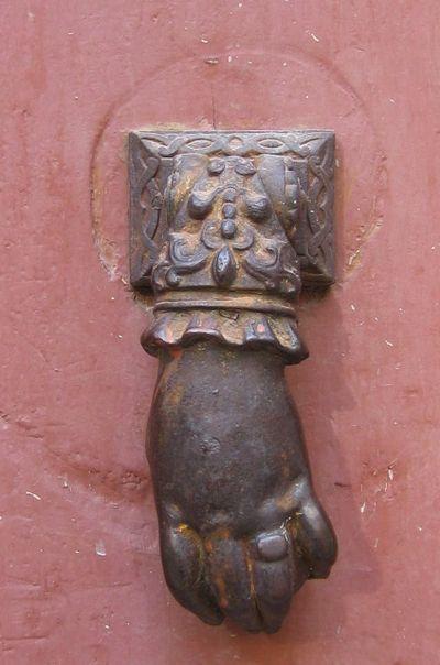 French door knocker