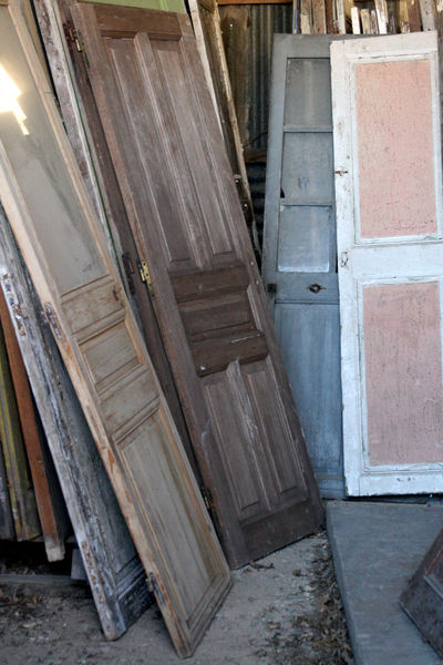 French Doors and shutters