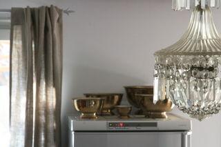 silver kitchen