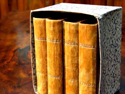 French-antique-market-books