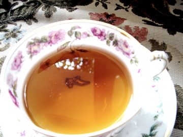 Clasp-tea-fortune