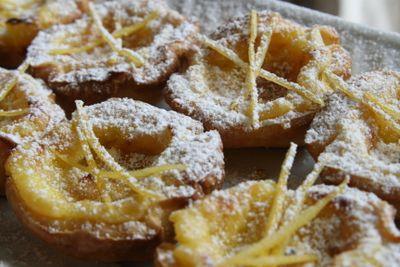 lemon tart or tarte au citron
