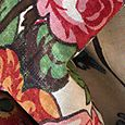 Vintage Floral Linen