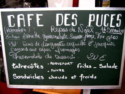 Cafe Au Puces