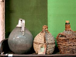 French wine jugs
