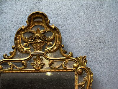 French-antique-mirror
