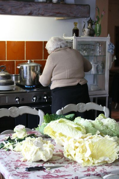 Cooking-cabbage