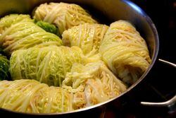 Cabbage-pan