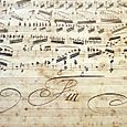 Hand writing music