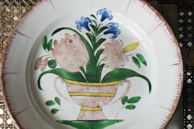 18th century French plate