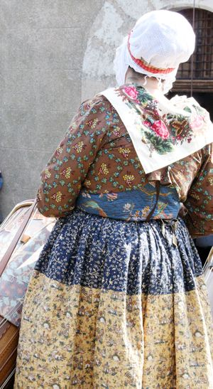 French vintage clothing