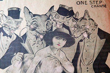 Vintage music programs loups
