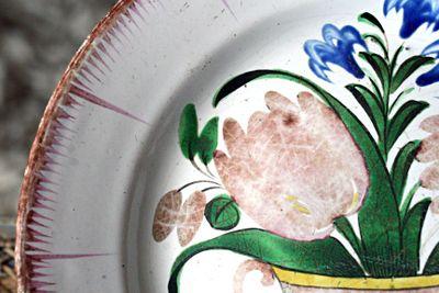 18th century dinner plate