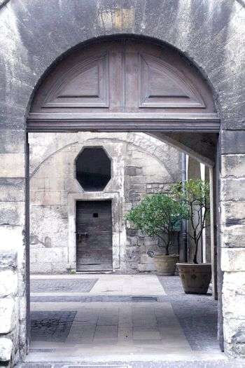 French entrance