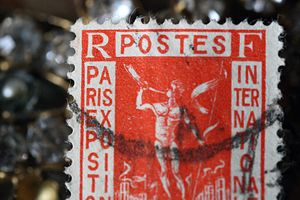 French-Paris-stamp