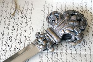 French-letter-opener
