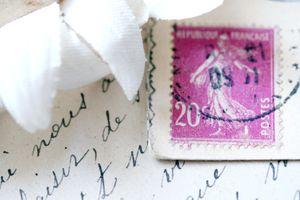 Frenh-pink-postage
