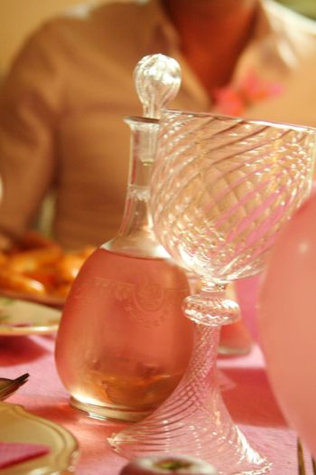 Pink tabletop