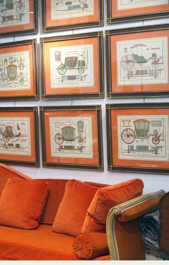 Orange antiques