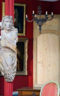 Wood sculpture 18th century
