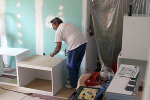 Remodelling kitchen