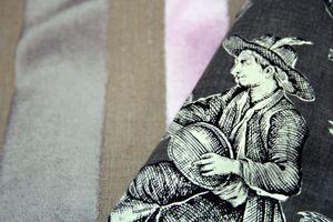 French-fabric-velvets Toile de Jouy
