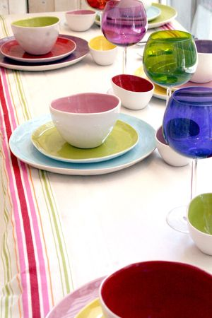 Spring-theme-tablesetting
