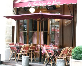 Red-check-french-cafe