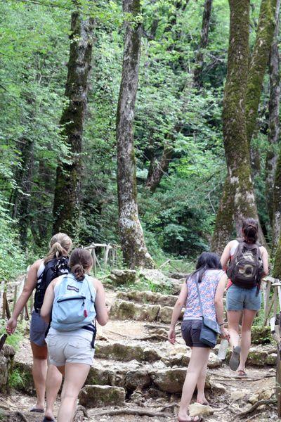 Hiking st baume
