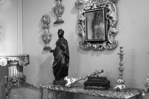 18th century gilded antiques