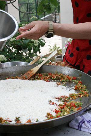 Paelle rice