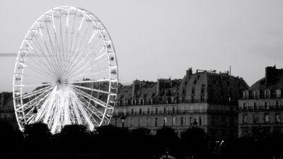 Ferris Wheel Paris Louvre