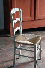 French Kitchen Table Chair