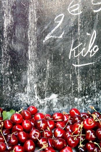 Open-market-cherries