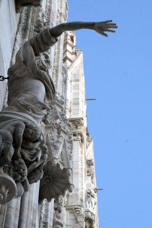 Milan duomo Galleria Vittorio Emanuele