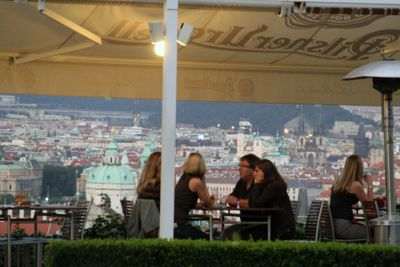 Prague bellavista restaurant
