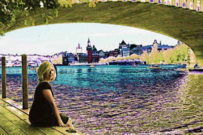 Prague toe dipping