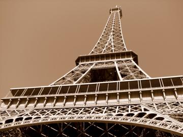 the Eiffel Tower paris
