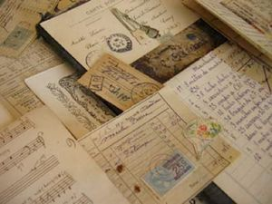 Vintage-French-papers-