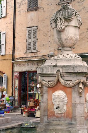 Cotignac-fountain