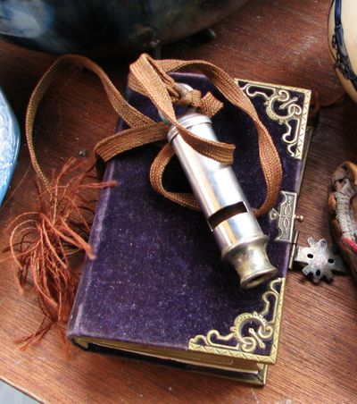French vintage whistle