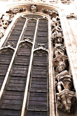 Duomo milan facade