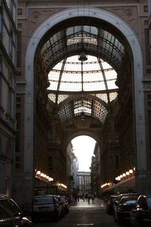 Milan Galleria Vittorio Emanuele