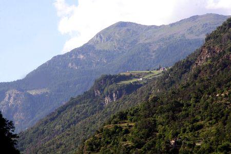 Tirano italy alps