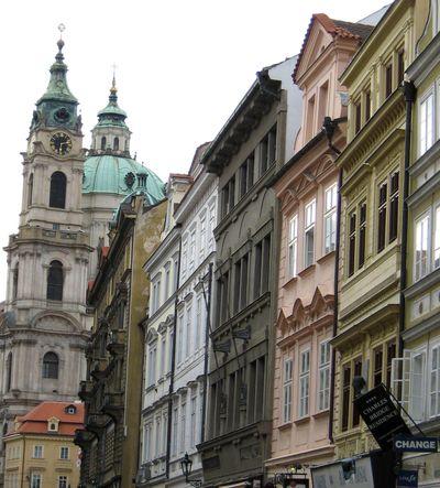 Facades Prague