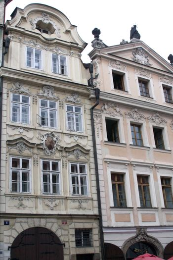 Castle steps prague hotel