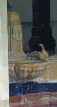 Budapest fountain bath